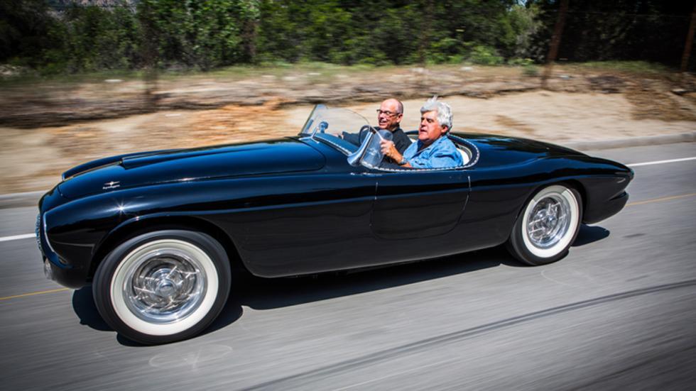 Jay Leno programa coches televisión lateral