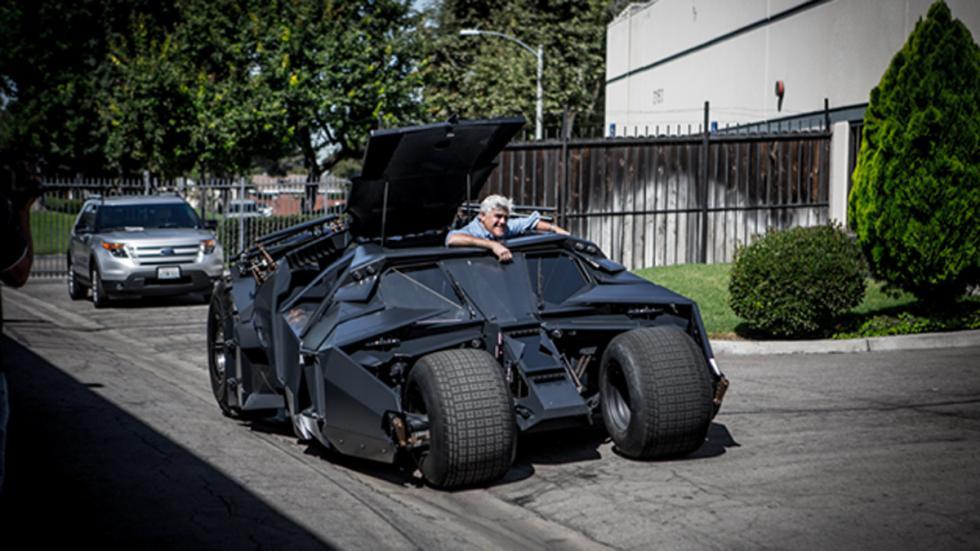 Jay Leno programa coches televisión Tumbler