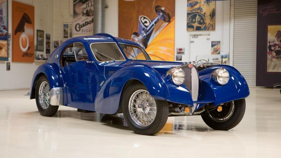 Jay Leno programa coches televisión Bugatti