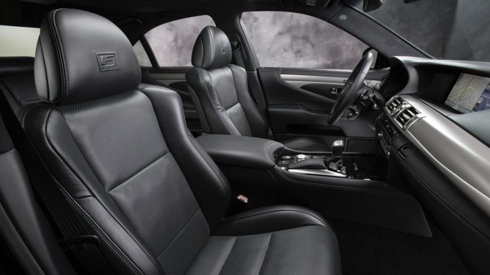 Lexus LS 460 F Sport interior