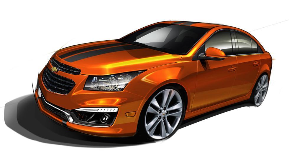 Chevrolet Cruze RS Plus Concept - frontal