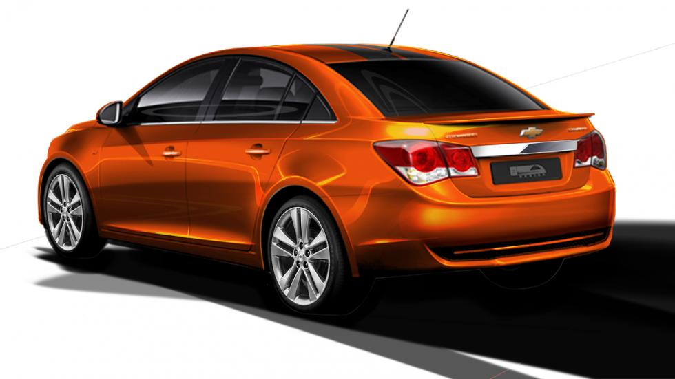 Chevrolet Cruze RS Plus Concept - trasera