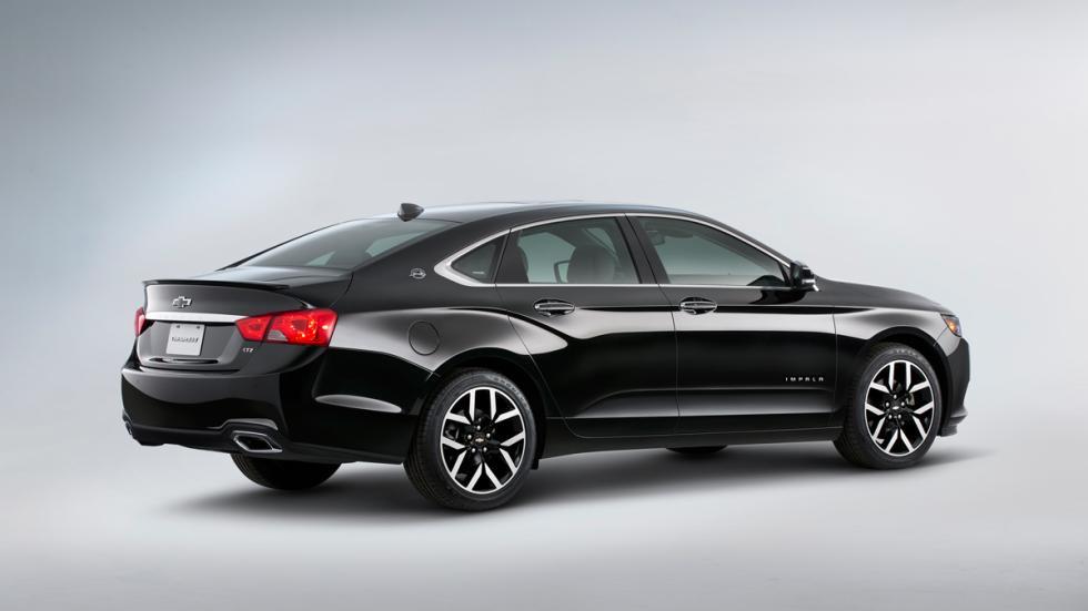 Chevrolet Impala Blackout - trasera