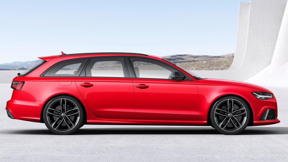 Cinco coches sorprenderan conduces Audi RS6 Avant lateral