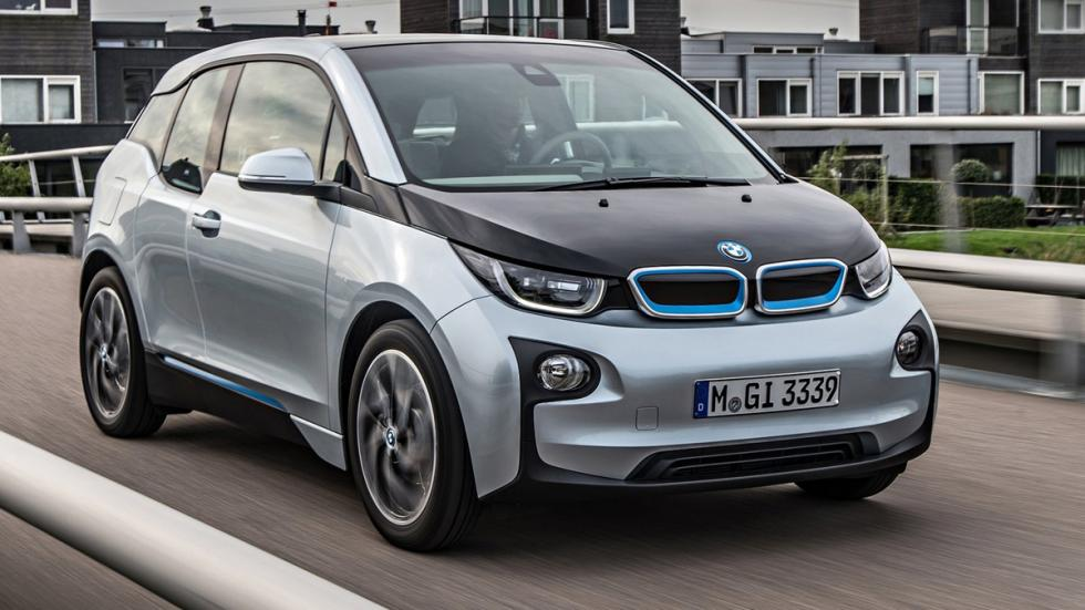 Cinco coches sorprenderan conduces BMW i3 delantera