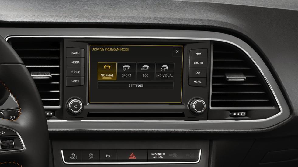 Modos de conducción del Seat León X-Perience