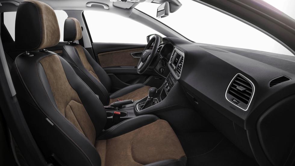 Interior del Seat León X-Perience