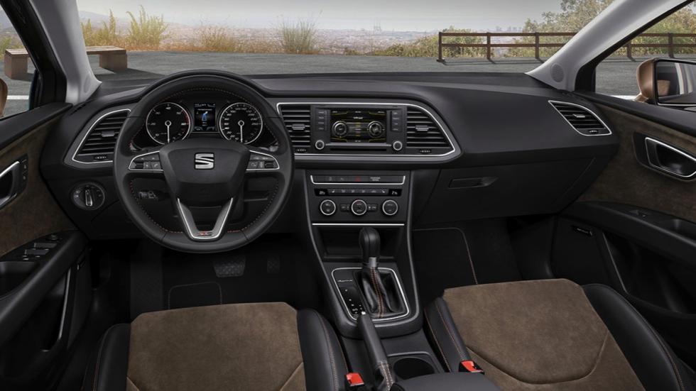 Salpicadero del Seat León X-Perience