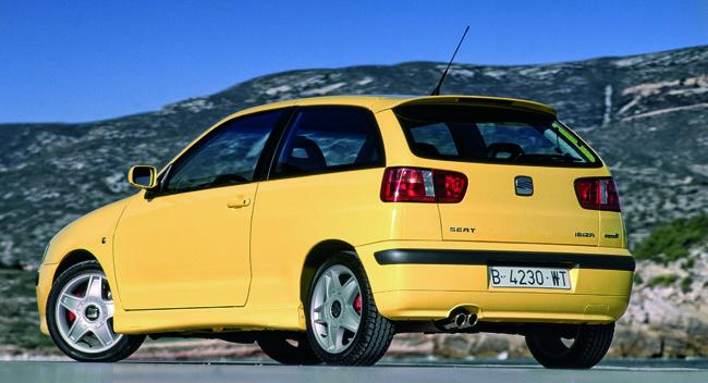 Seat Ibiza tercera generación