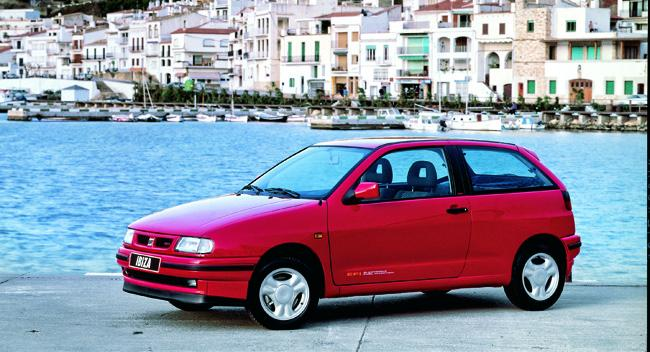 Seat Ibiza segunda generacón