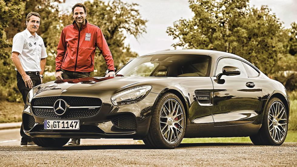 Bernd Schneider con el Mercedes AMG GT