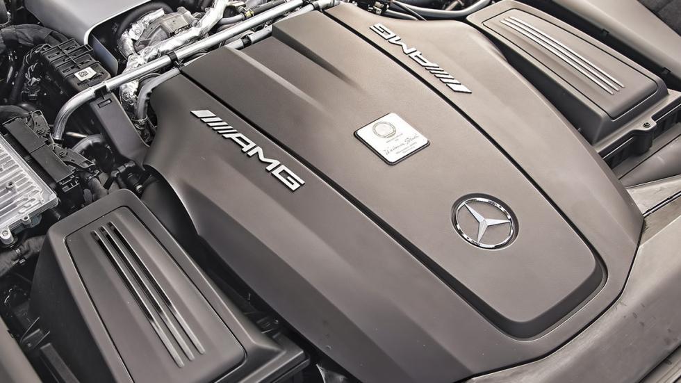 Motor del Mercedes AMG GT