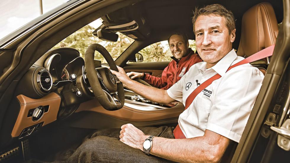 Asientos del Mercedes AMG GT