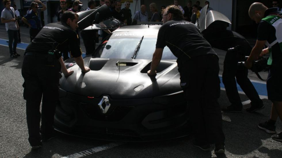 Renault RS 01 en el Circuito de Jerez