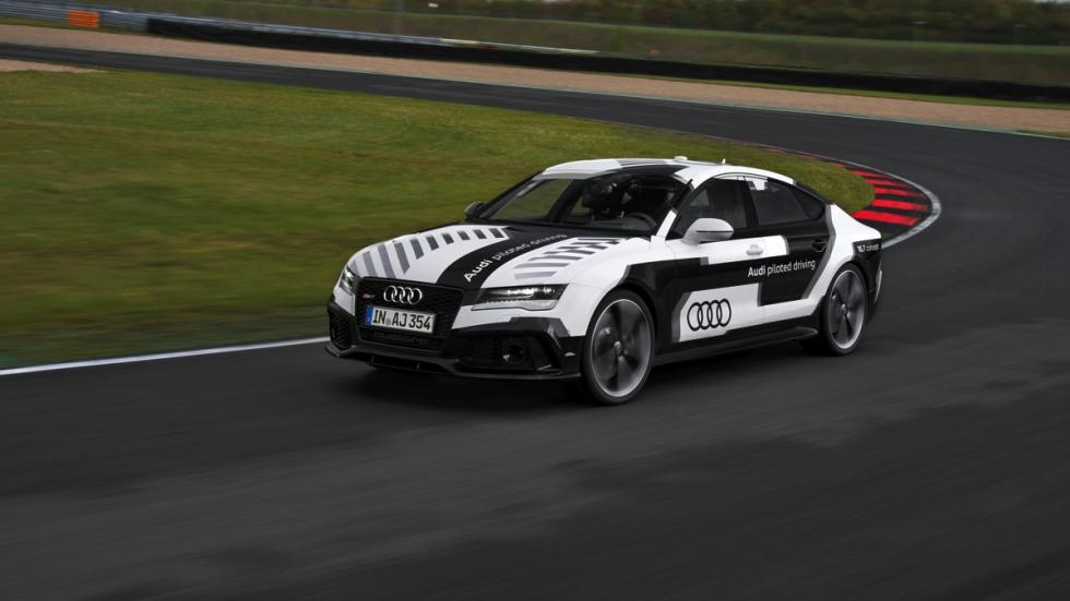 Audi RS7 circuito sin conductor lateral