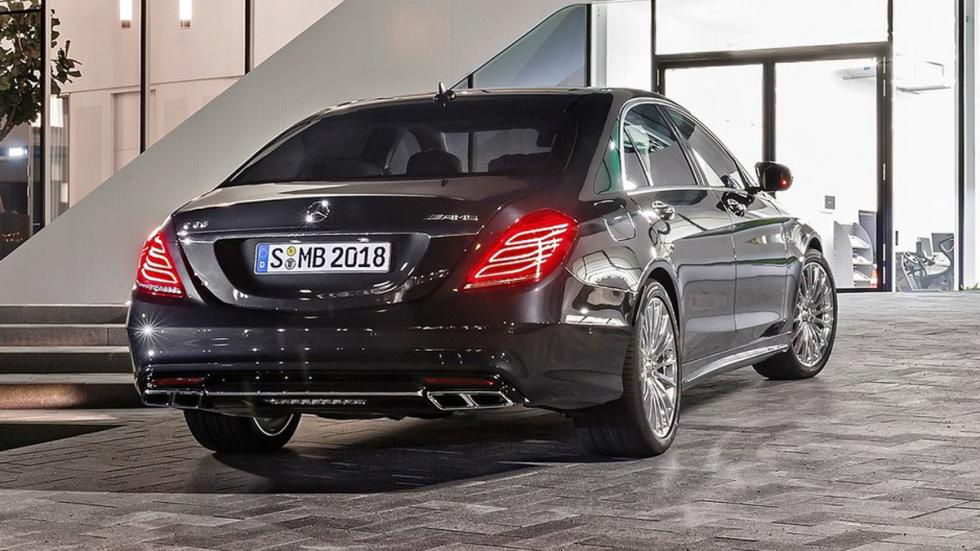 cinco berlinas produccion mas potentes Mercedes S65 AMG trasera