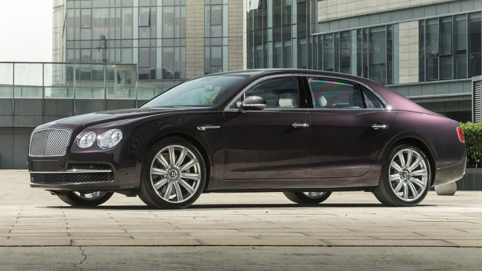 cinco berlinas produccion mas potentes Bentley Flying Spur