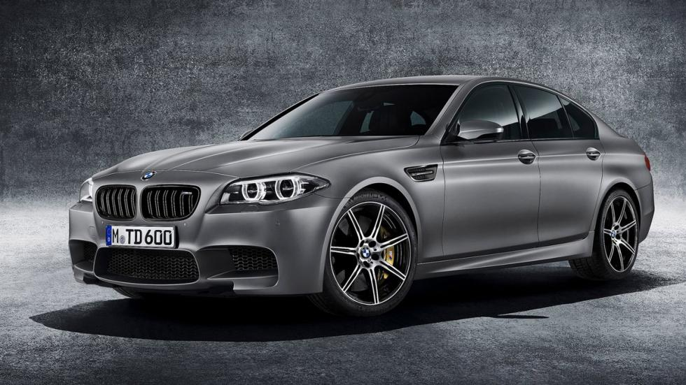 cinco berlinas produccion mas potentes BMW M5 30 Jahre