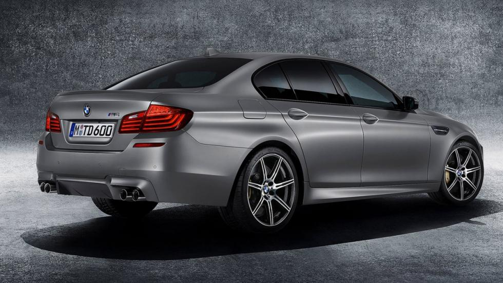 cinco berlinas produccion mas potentes BMW M5 30 Jahre trasera