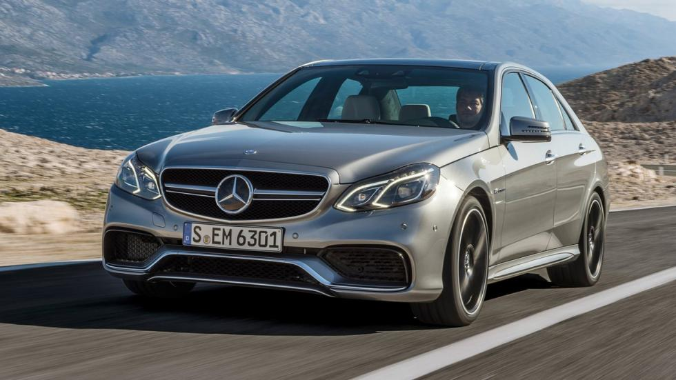 cinco berlinas produccion mas potentes Mercedes E63 AMG S