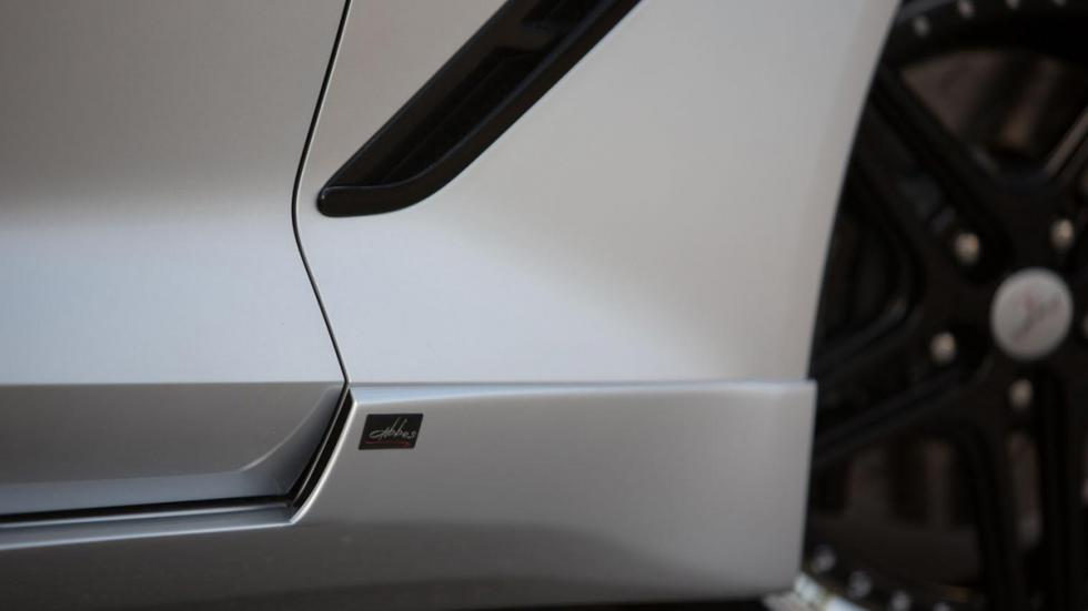 Corvette Stingray Abbes detalle placa 2