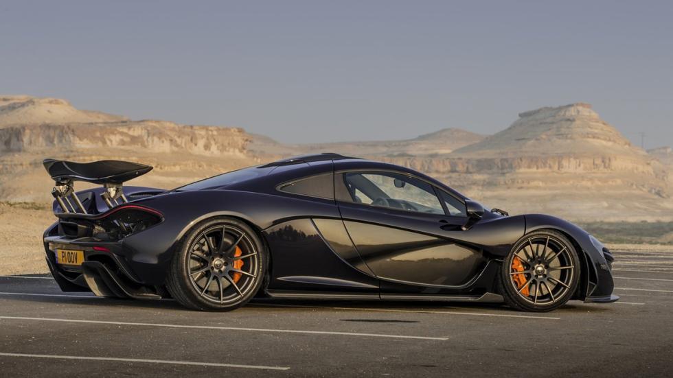 cinco hibridos mas rapidos McLaren P1 lateral