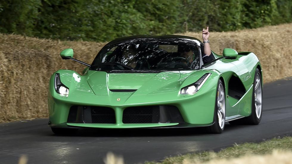 cinco hibridos mas rapidos Ferrari LaFerrari