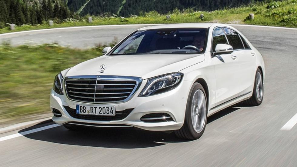 cinco hibridos mas rapidos Mercedes S500 Plug-in Hybrid