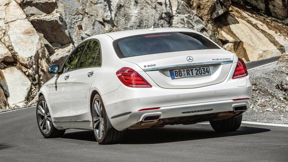 cinco hibridos mas rapidos Mercedes S500 Plug-in Hybrid zaga