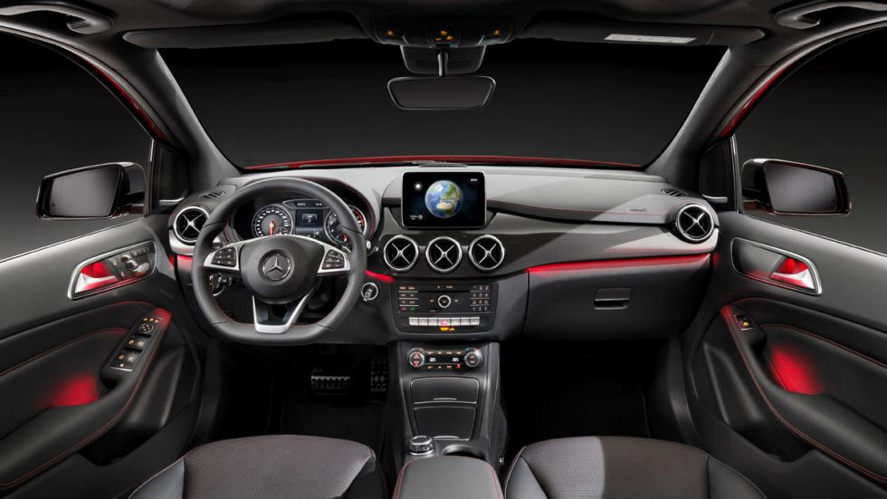 Mercedes Clase B 2015 interior