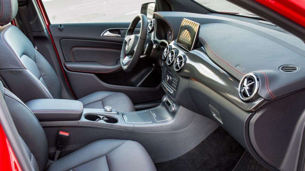 Mercedes Clase B 2015 asientos