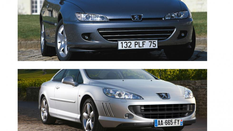 Peugeot 406 Coupé vs. Peugeot 407 Coupé
