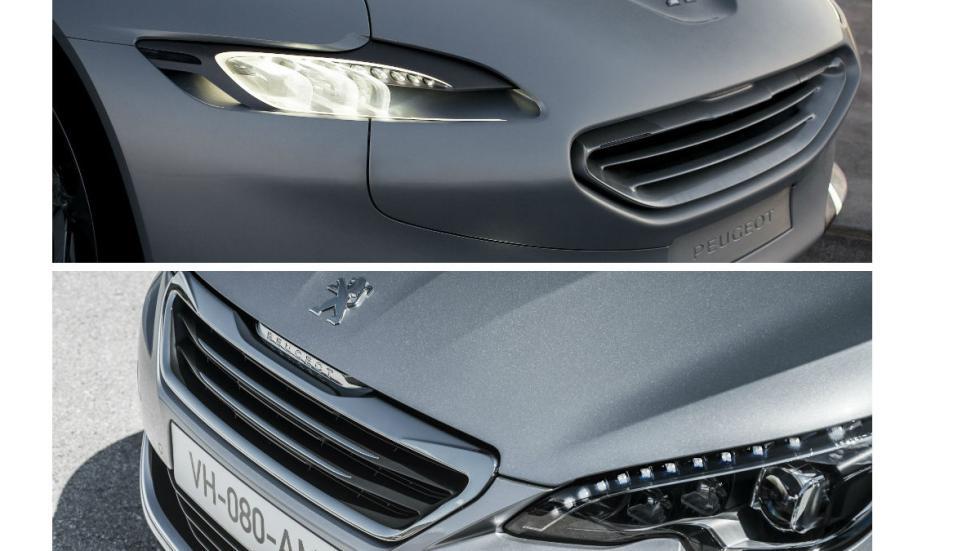 Peugeot SR1 vs nuevo Peugeot 308