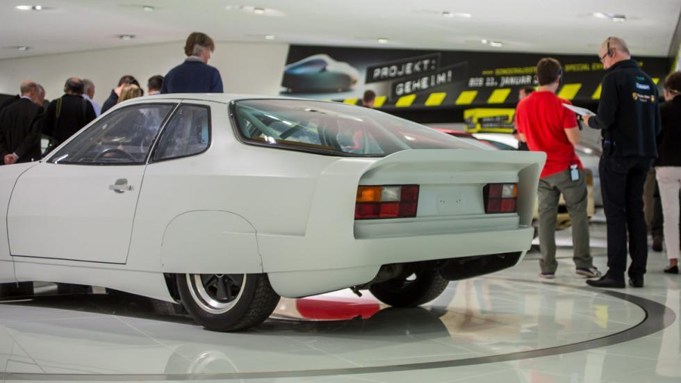 Porsche 924 más rápido de la historia trasera