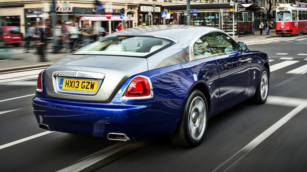 cochazos comprar tarjeta black Rolls Royce Wraith trasera