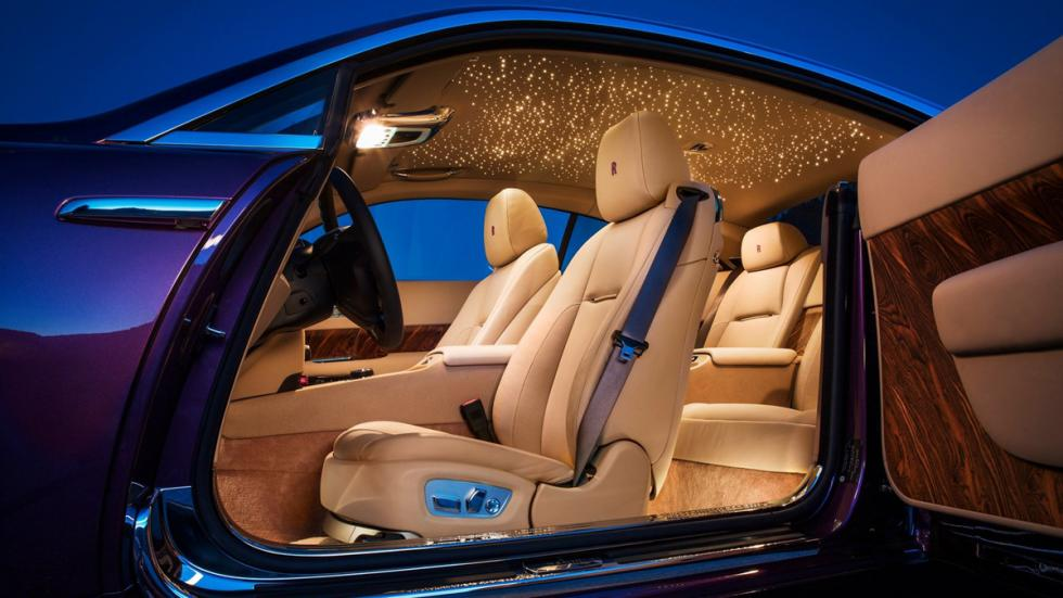 cochazos comprar tarjeta black Rolls Royce Wraith interior