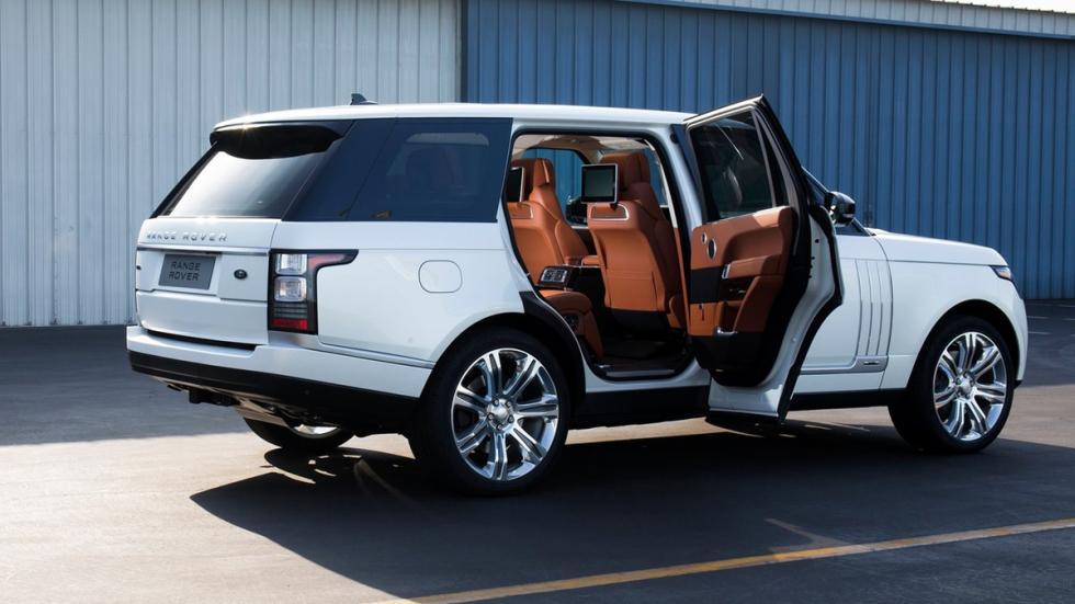 cochazos comprar tarjeta black Range Rover LWB trasera