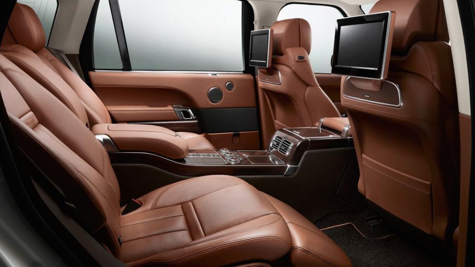 cochazos comprar tarjeta black Range Rover LWB interior