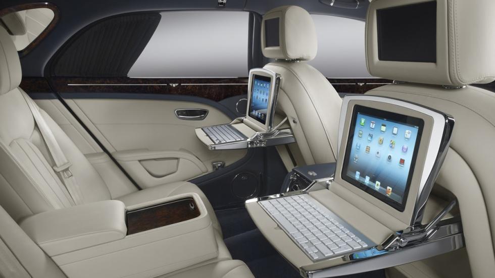 cochazos comprar tarjeta black Bentley Mulsanne interior