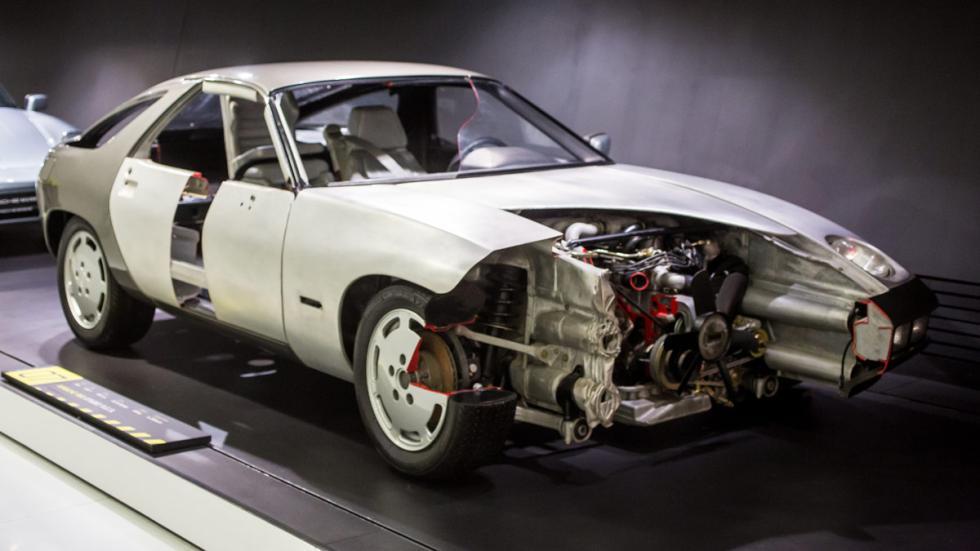 Porsche Prototipo P.E.S Tipo 960 frontal