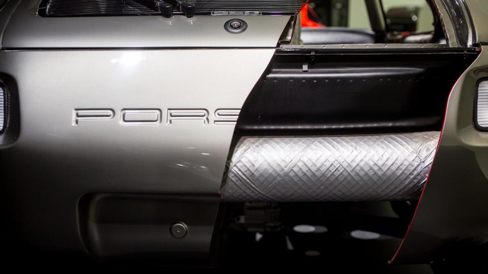 Porsche Prototipo P.E.S Tipo 960 nuevos aceros de alta resistencia
