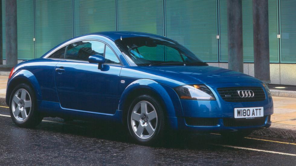 Audi TT delantera