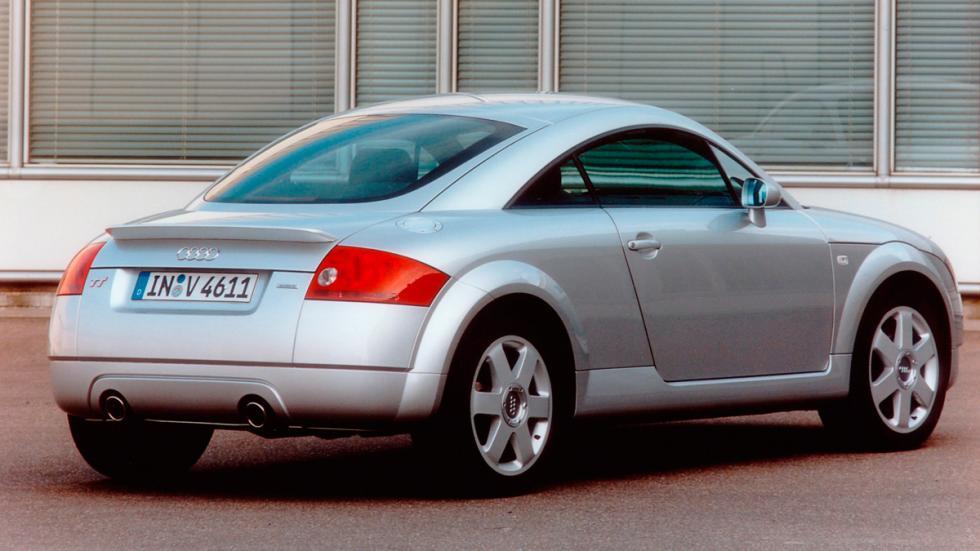 Audi TT trasera