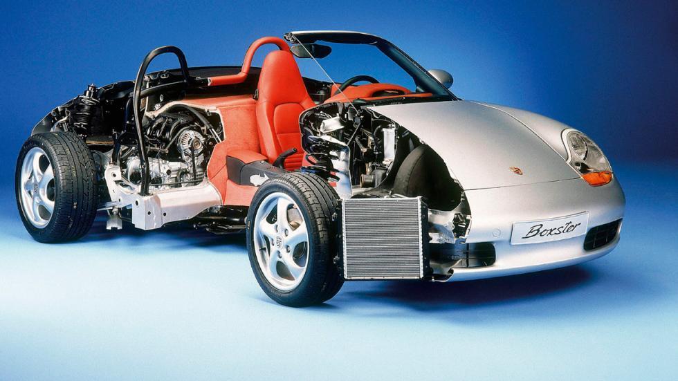 Porsche Boxster esqueleto
