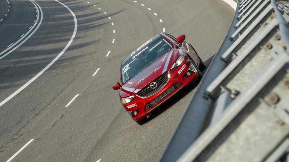 Mazda 6 record de velocidad - 1