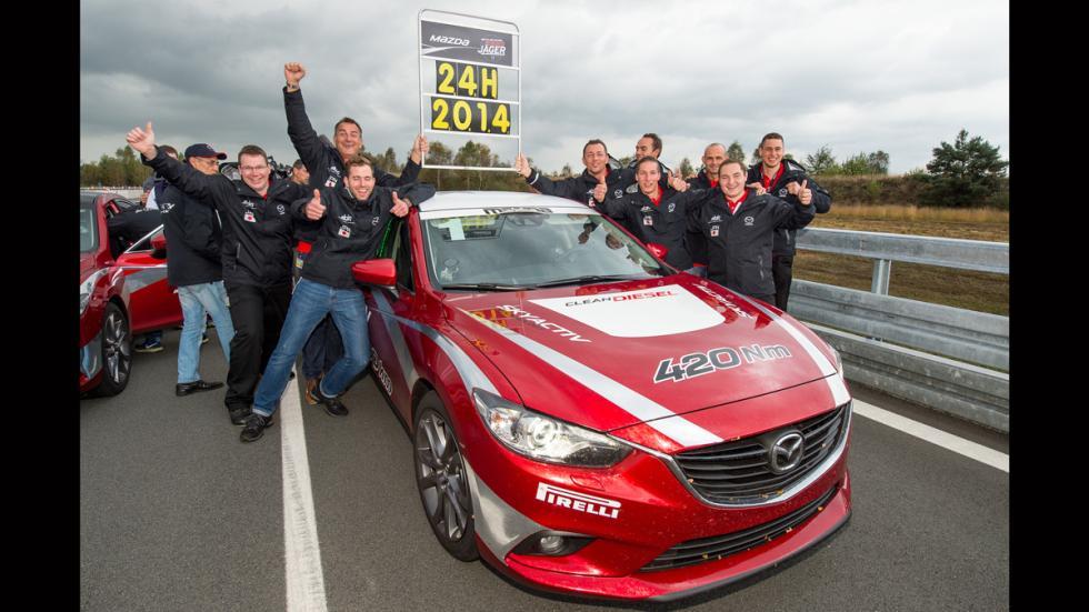 Mazda 6 record de velocidad - 6