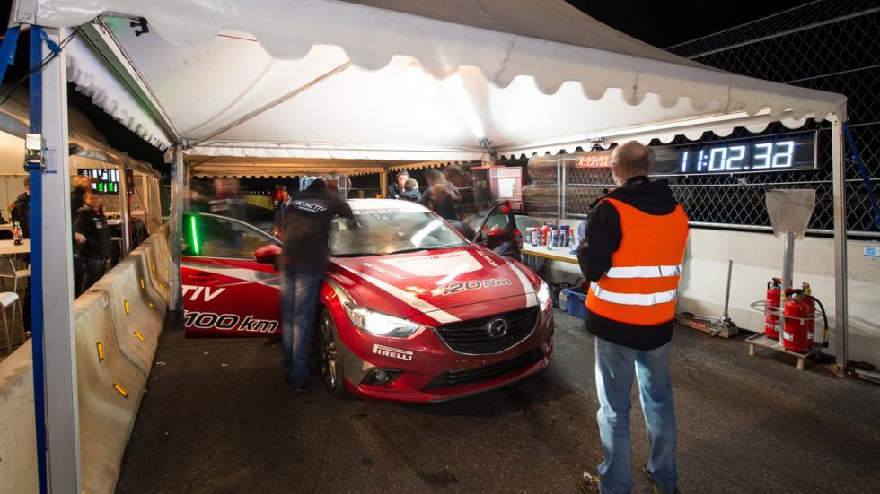 Mazda 6 record de velocidad - 10