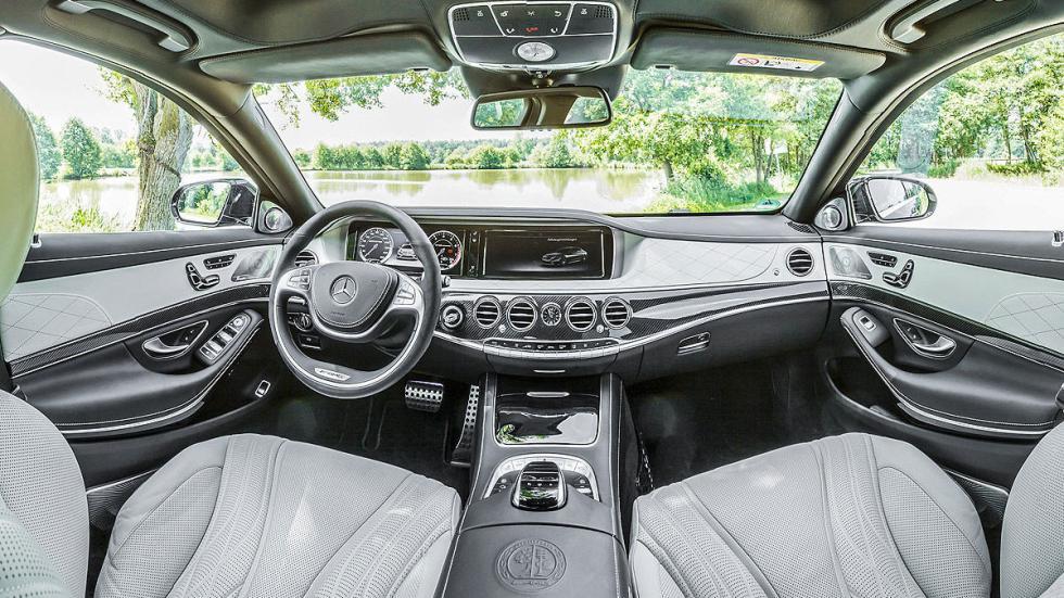 Mercedes S65 interior