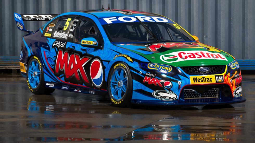 FPV- Ford Falcon Pepsi Max- Mark Winterbottom-Chaz Mostert