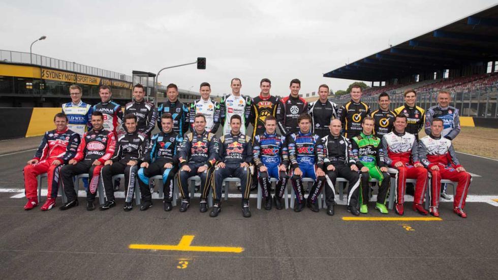 Parrilla de V8 Supercars 2014
